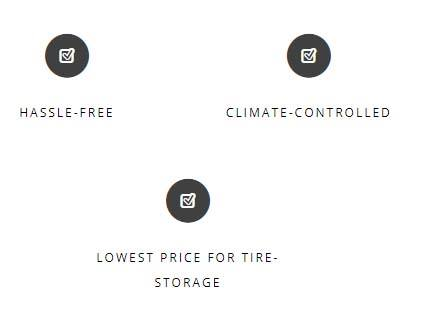 Climate Controlled Seasonal Tire Storage at Tony Graham Autoedge, Completely hassle free and lowest price.